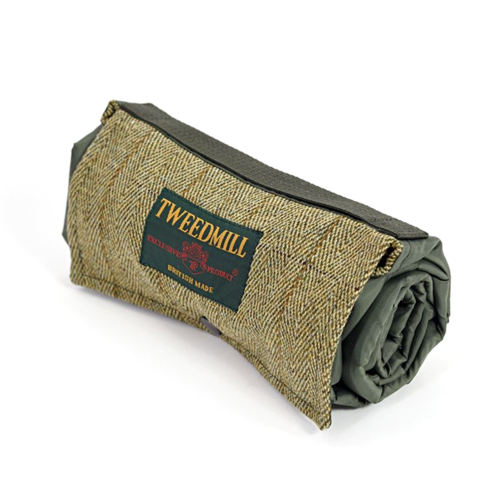 Walker Companion Tweed Picnic Rug Olive/Olive