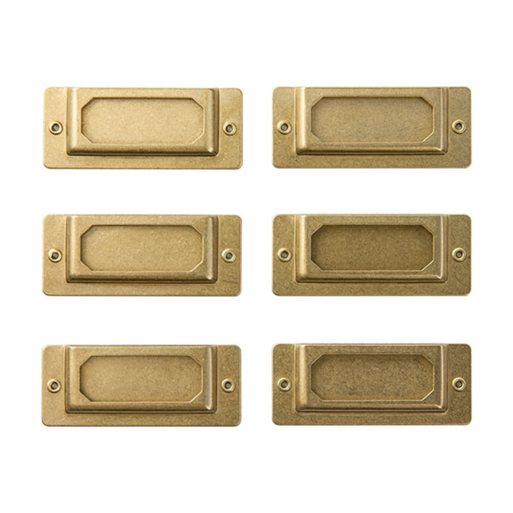 BRASS PRODUCTS LABEL PLATE