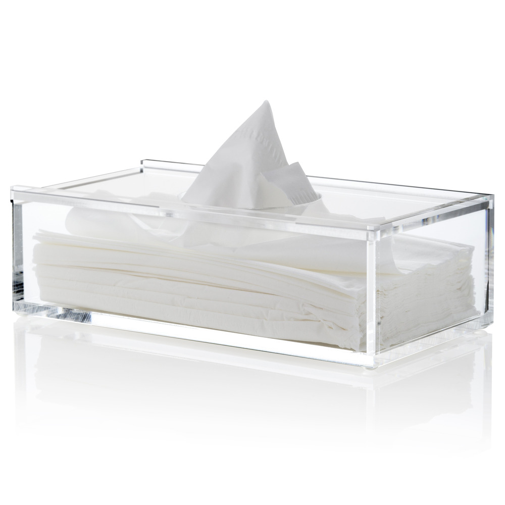 CLEAR TISSUE BOX