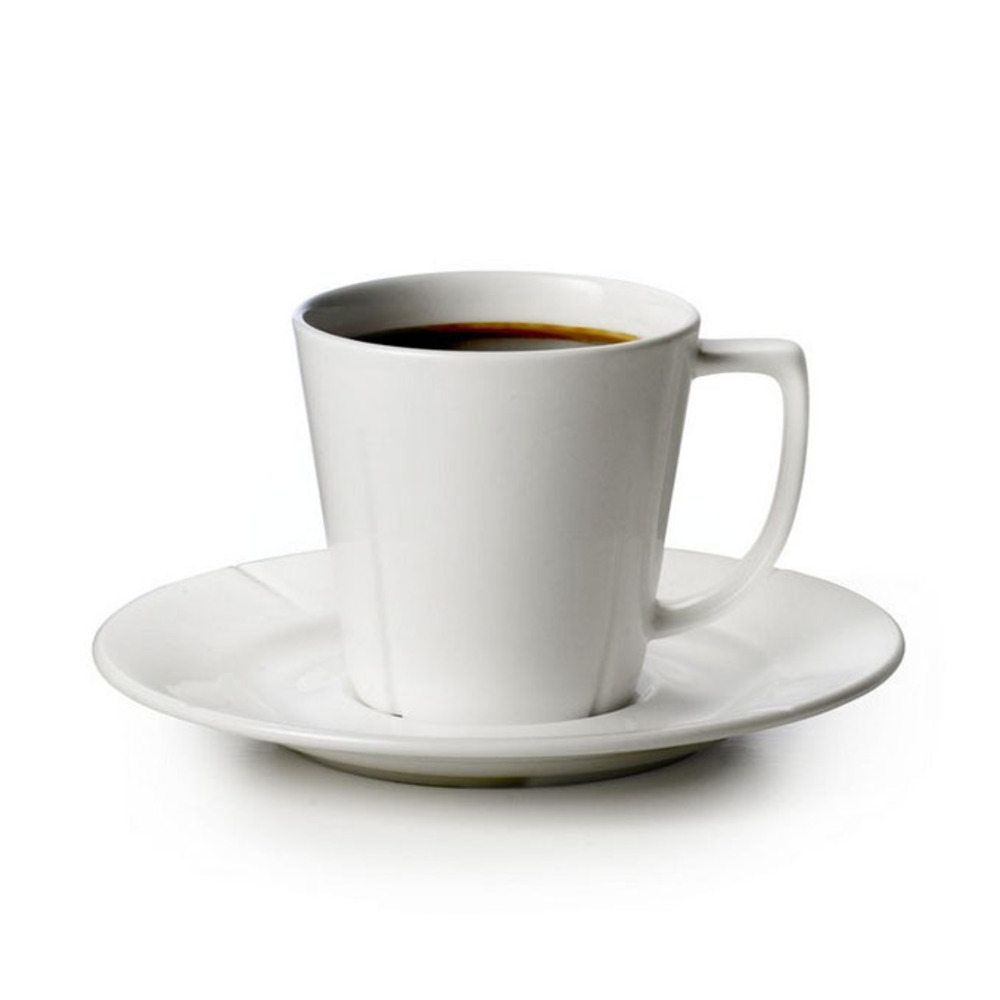 GRAND CRU COFFEE CUP WITH MATCHING SAUCER