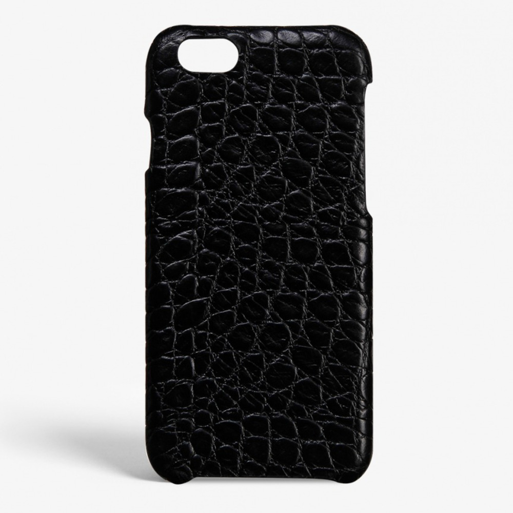IPHONE 7 CROCODILE MATTE BLACK