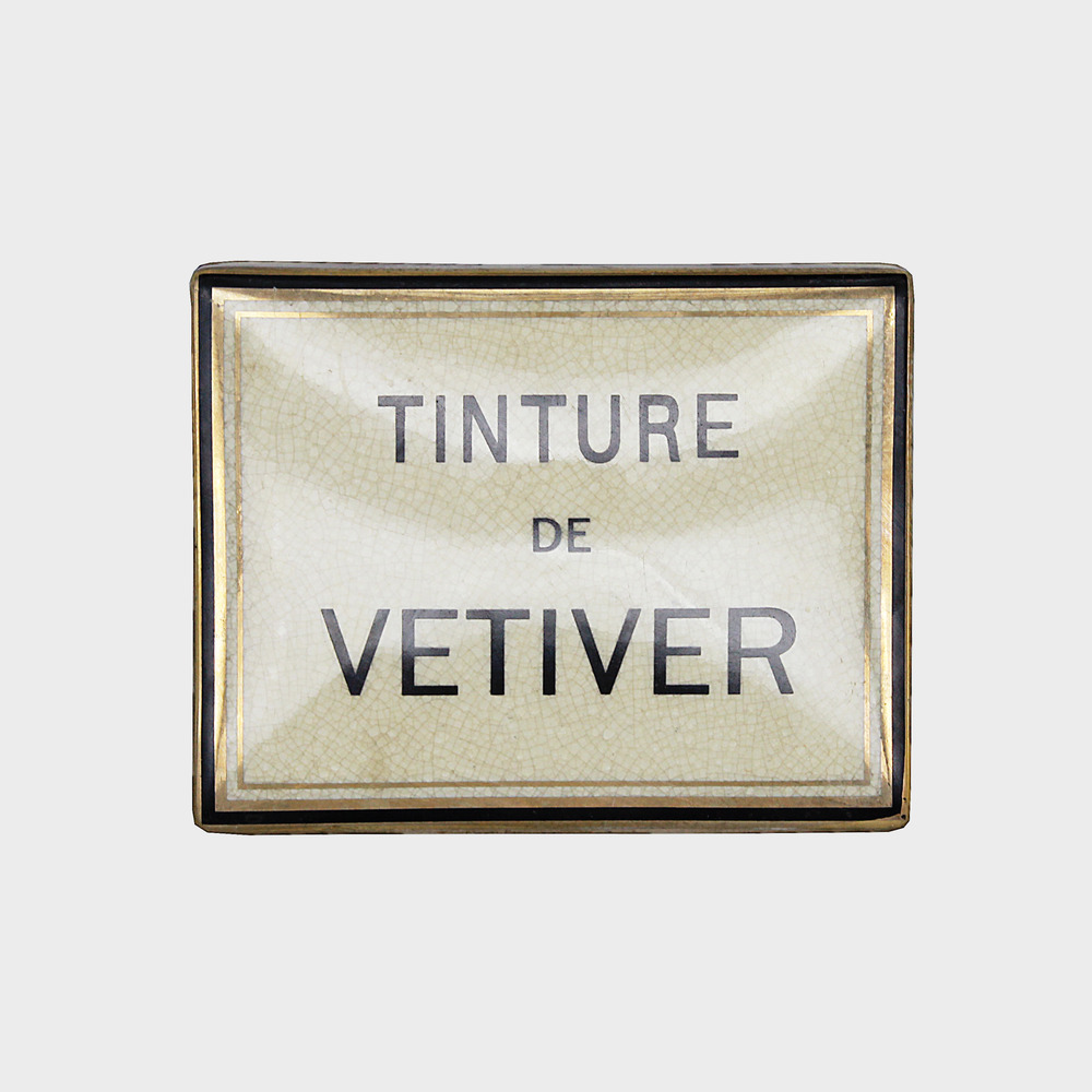 Vetiver Ceramic Candle