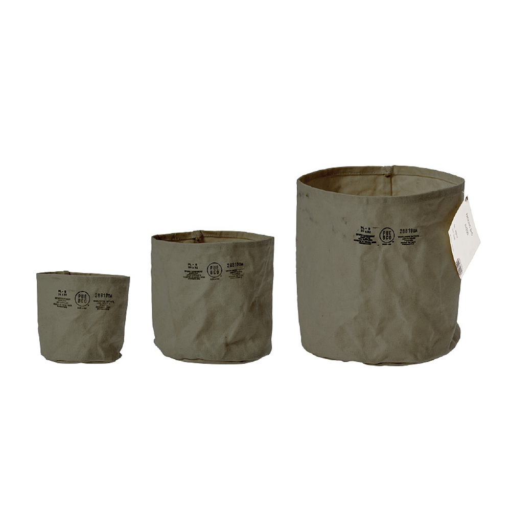 CANVAS POT COVER GREEN