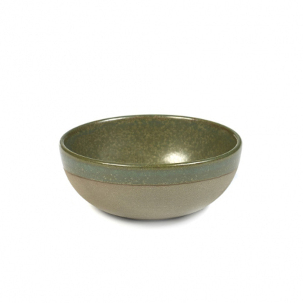 BOWL M SURFACE D11 H4,5 GREY/CAMOGREEN