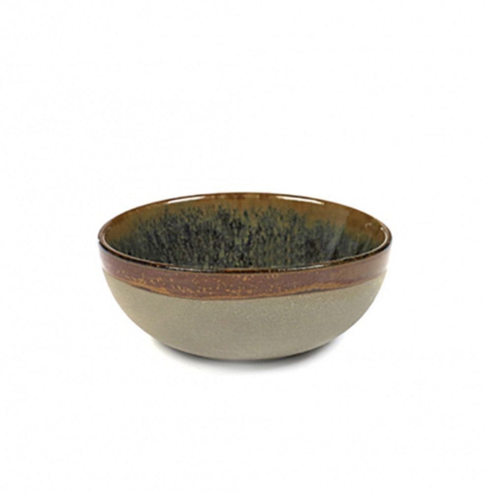 BOWL M SURFACE D11 H4,5 GREY/INDI GREY