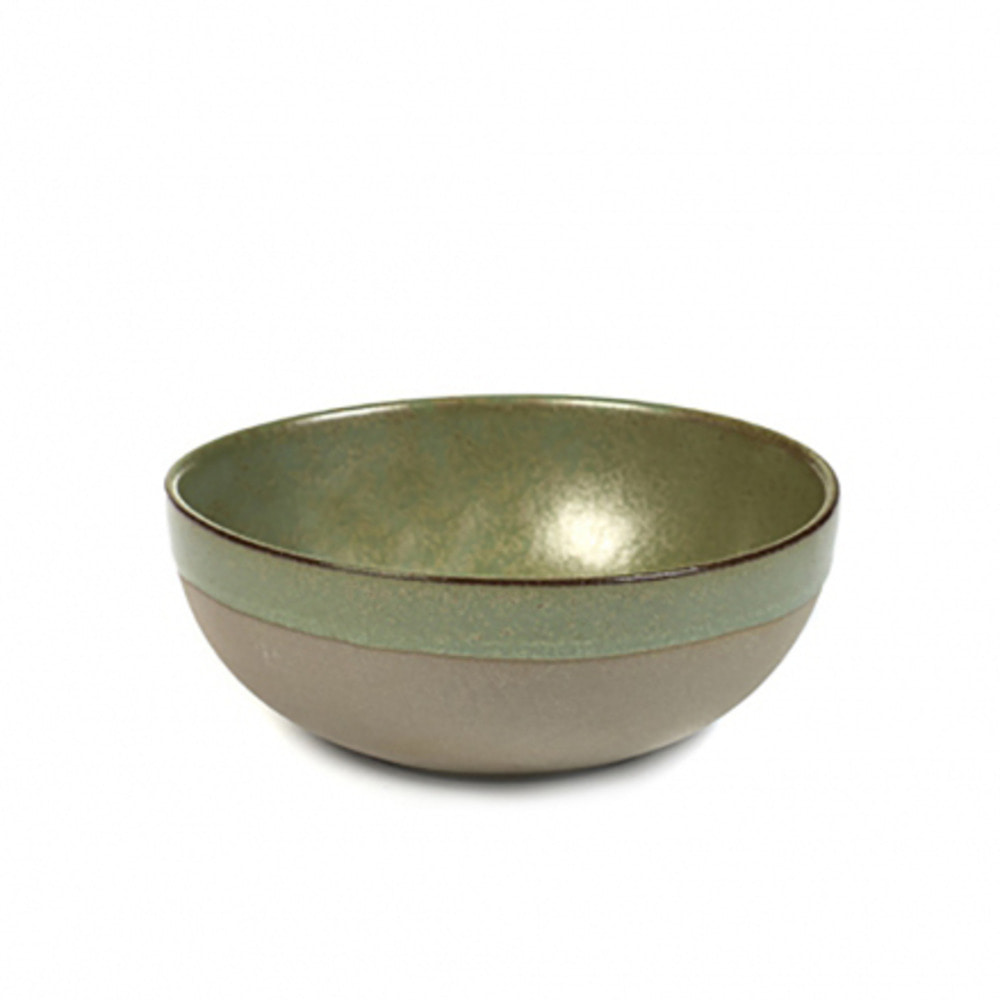 BOWL L SURFACE D13 H5 GREY/CAMOGREEN