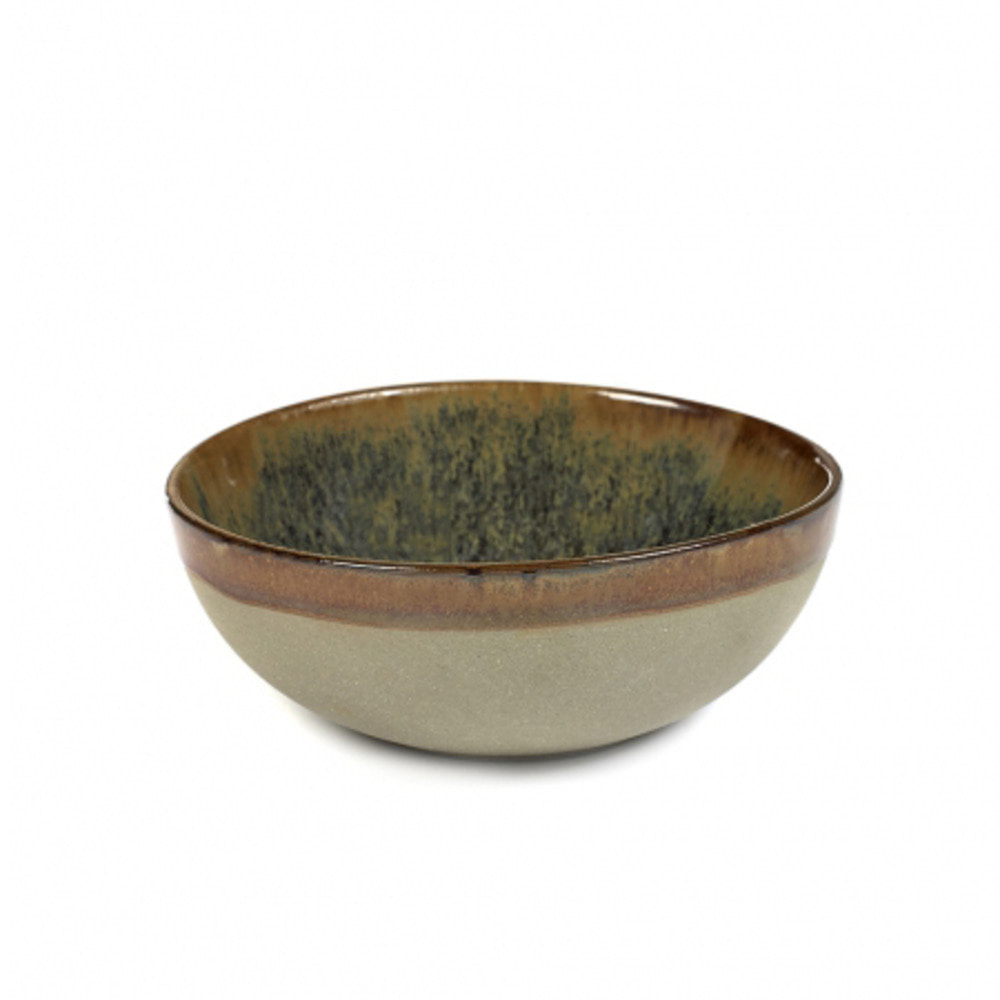 BOWL L SURFACE D13 H5 GREY/INDI GREY