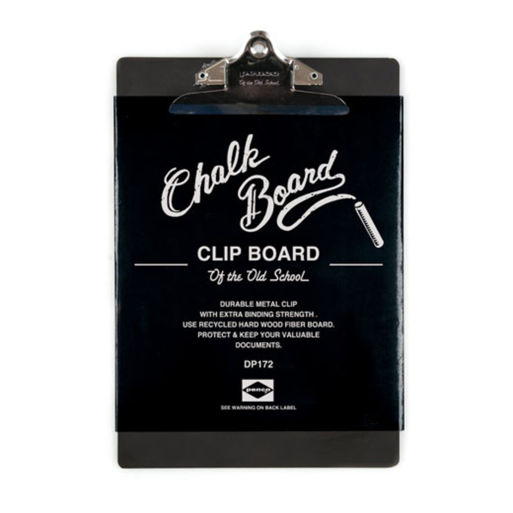 PENCO Clip Chalk Board O/S A4