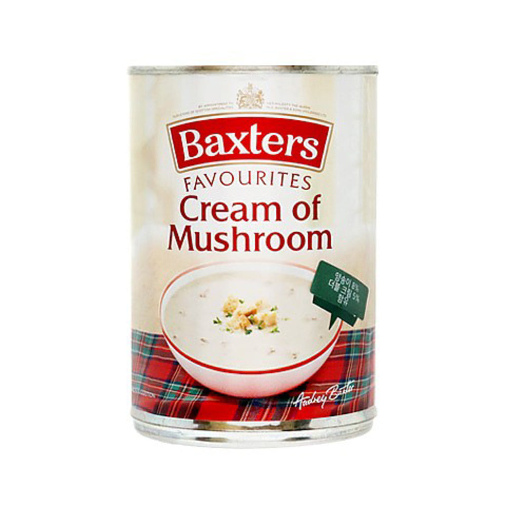Basters Favourites Cream of Mushroom Soup