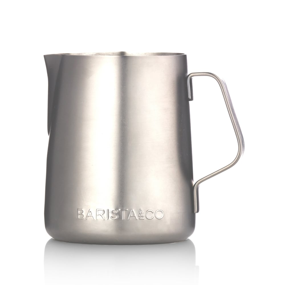 Milk Jug - Electric Steel (350ml)