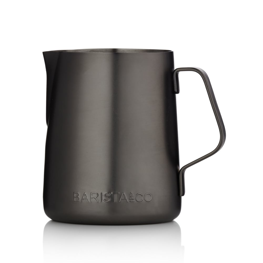 Non-Stick Professional Milk Jug Midnight Black (350ml)