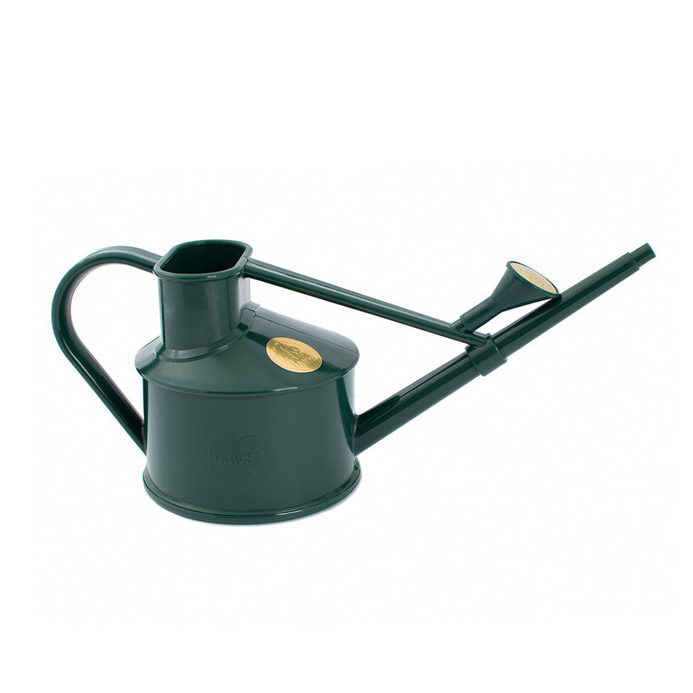 Handy Indoor Plastic Watering Can Green