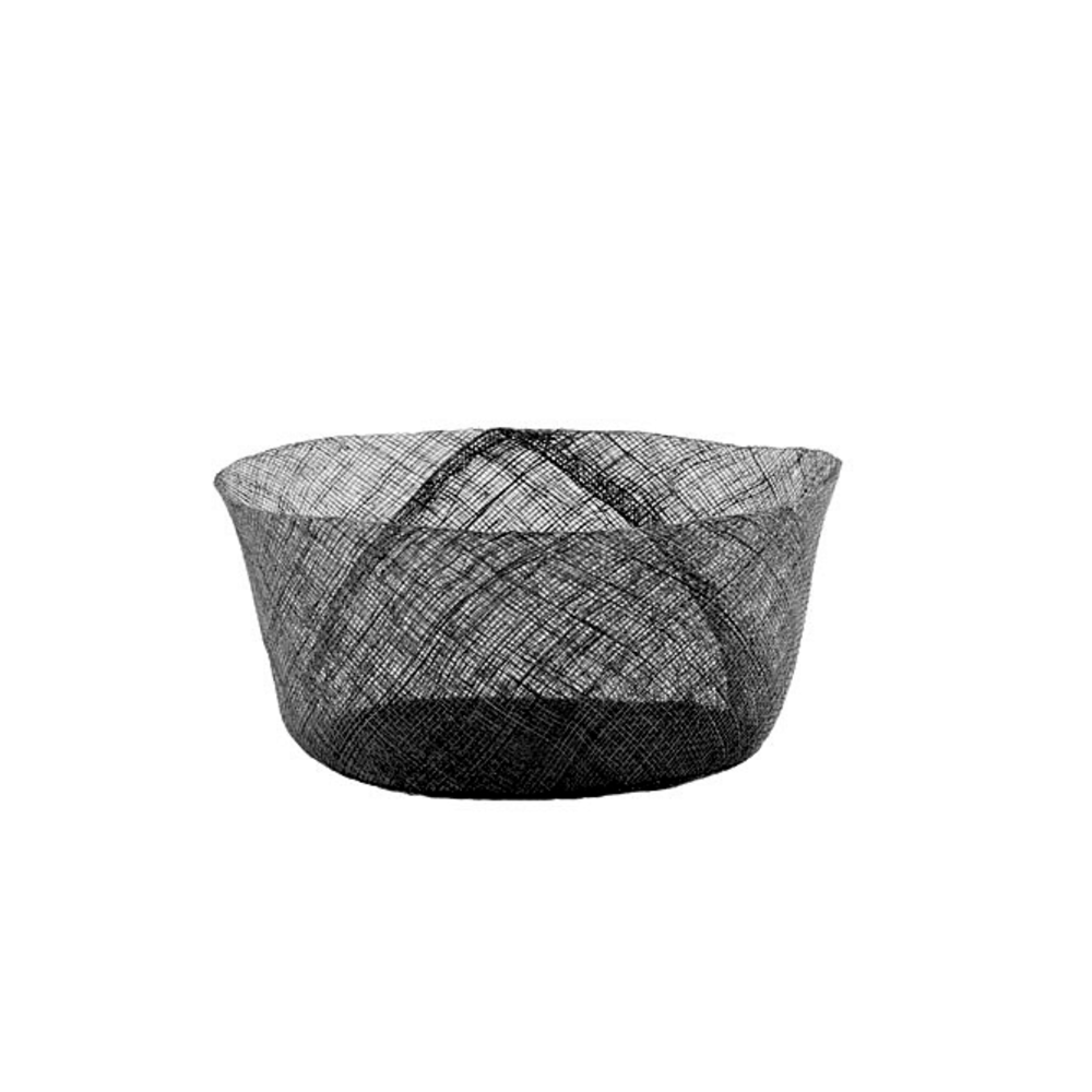 Simple Black Net Bowl L