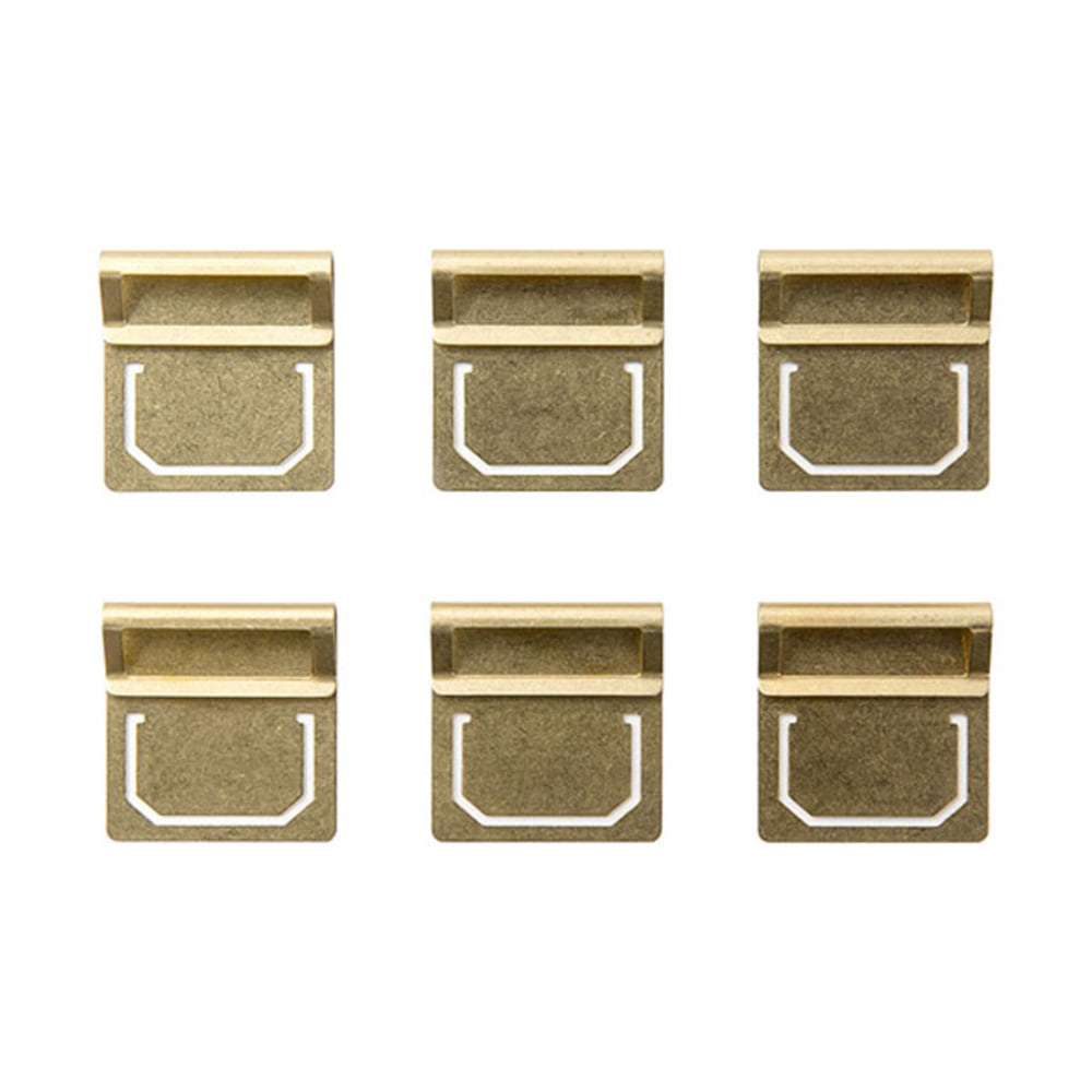 BRASS PRODUCTS  INDEX CLIP